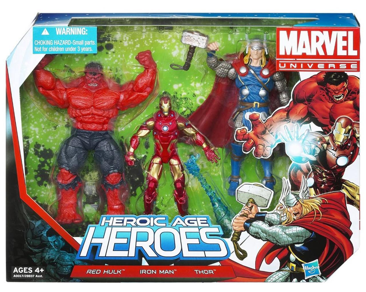 Marvel Universe Super Hero Team Packs Heroic Age Heroes Action Figure Set