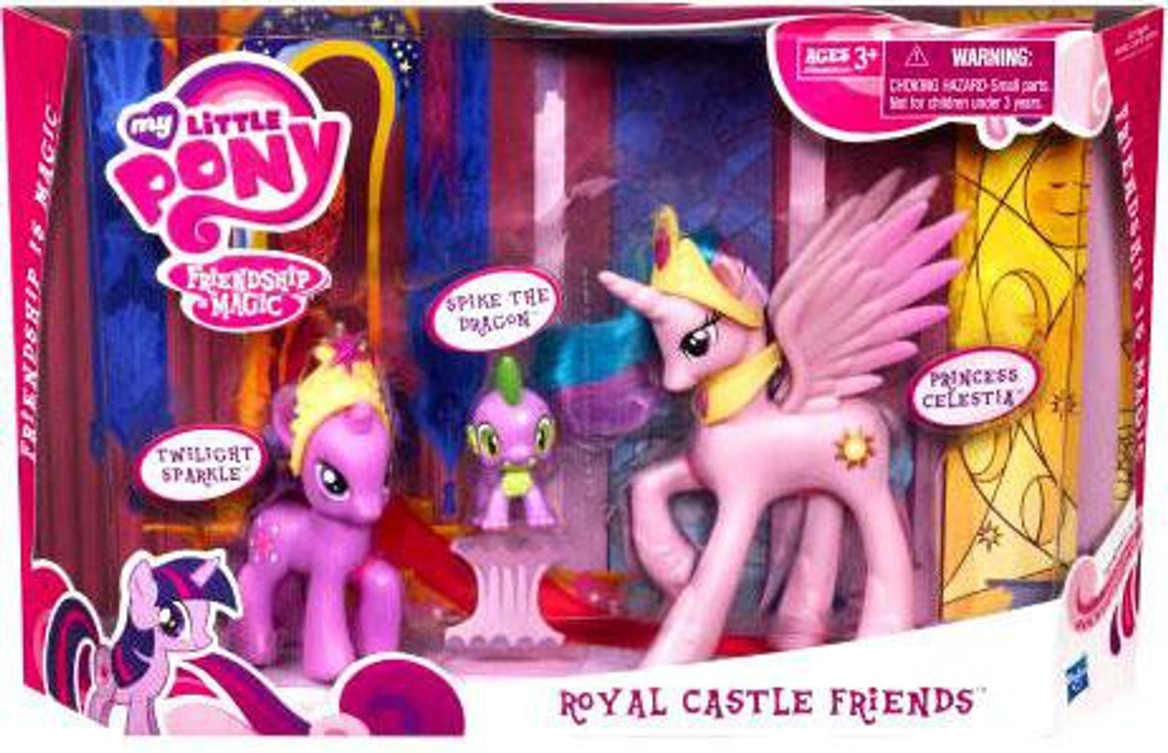 My Little Pony Friendship is Magic Royal Castle Friends Figure Set