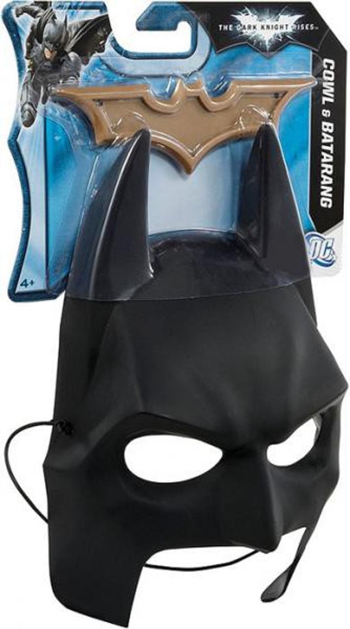 Batman The Dark Knight Rises Cowl & Batarang Roleplay Toy