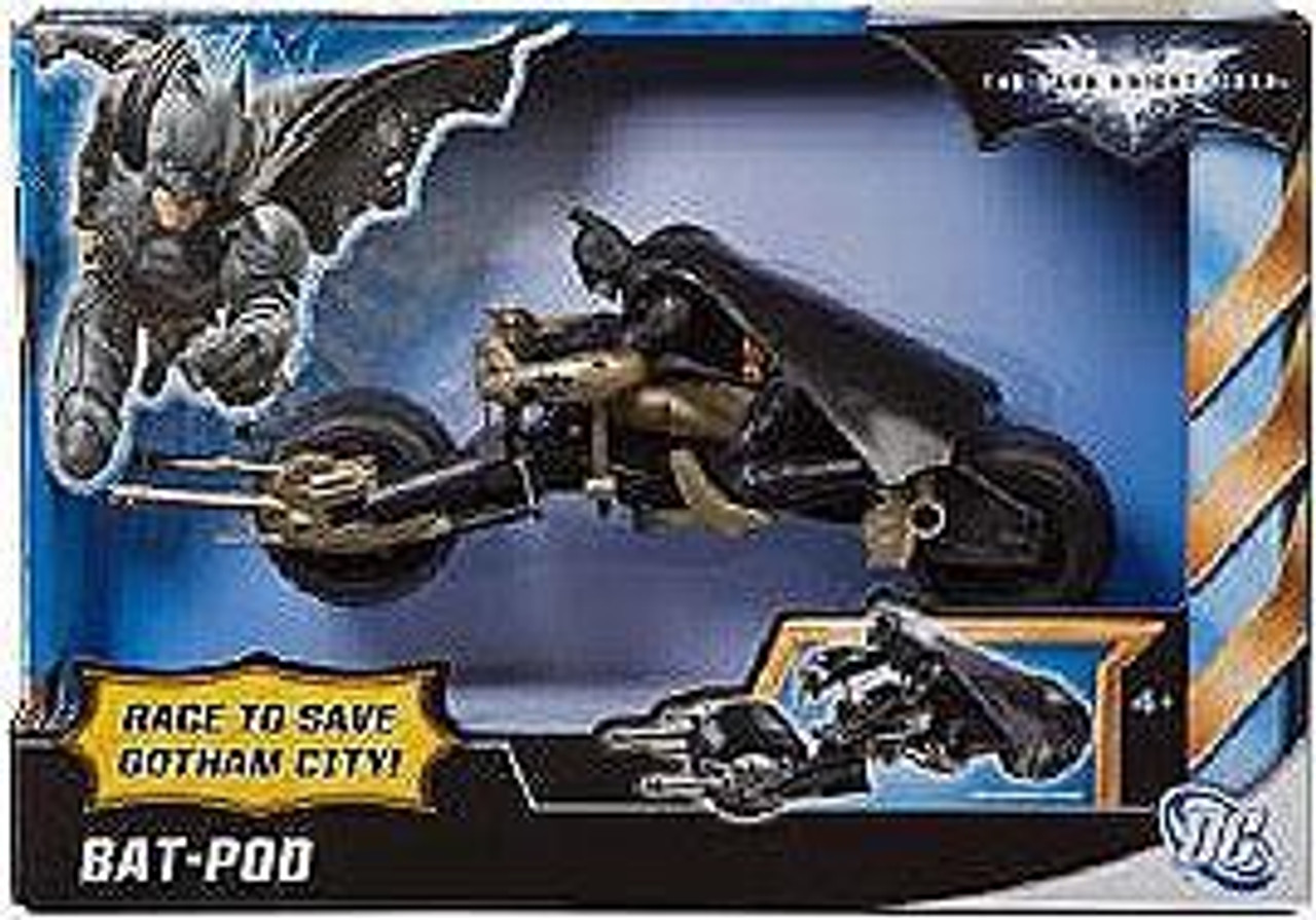 Batman The Dark Knight Rises Bat-Pod Vehicle