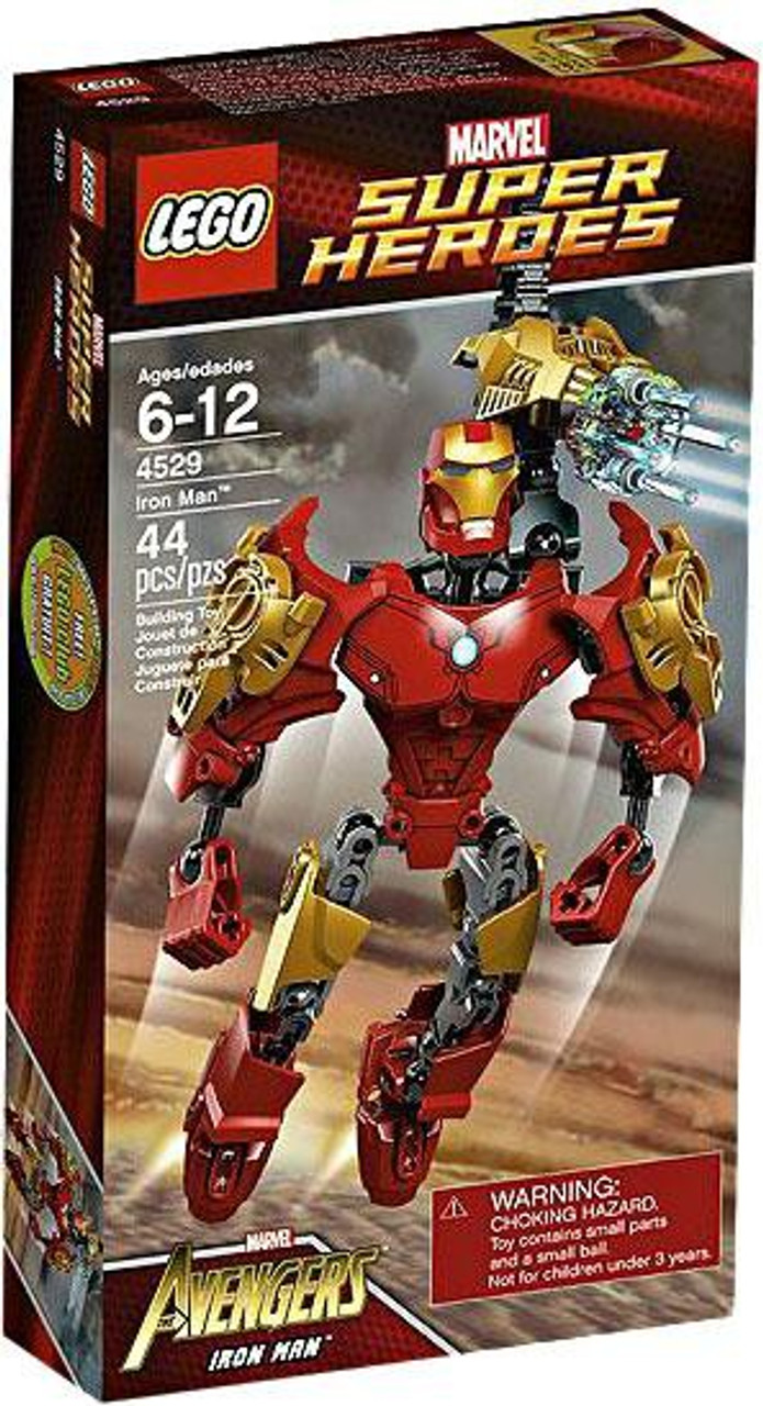 LEGO Marvel Super Heroes Avengers Iron Man Set #4529