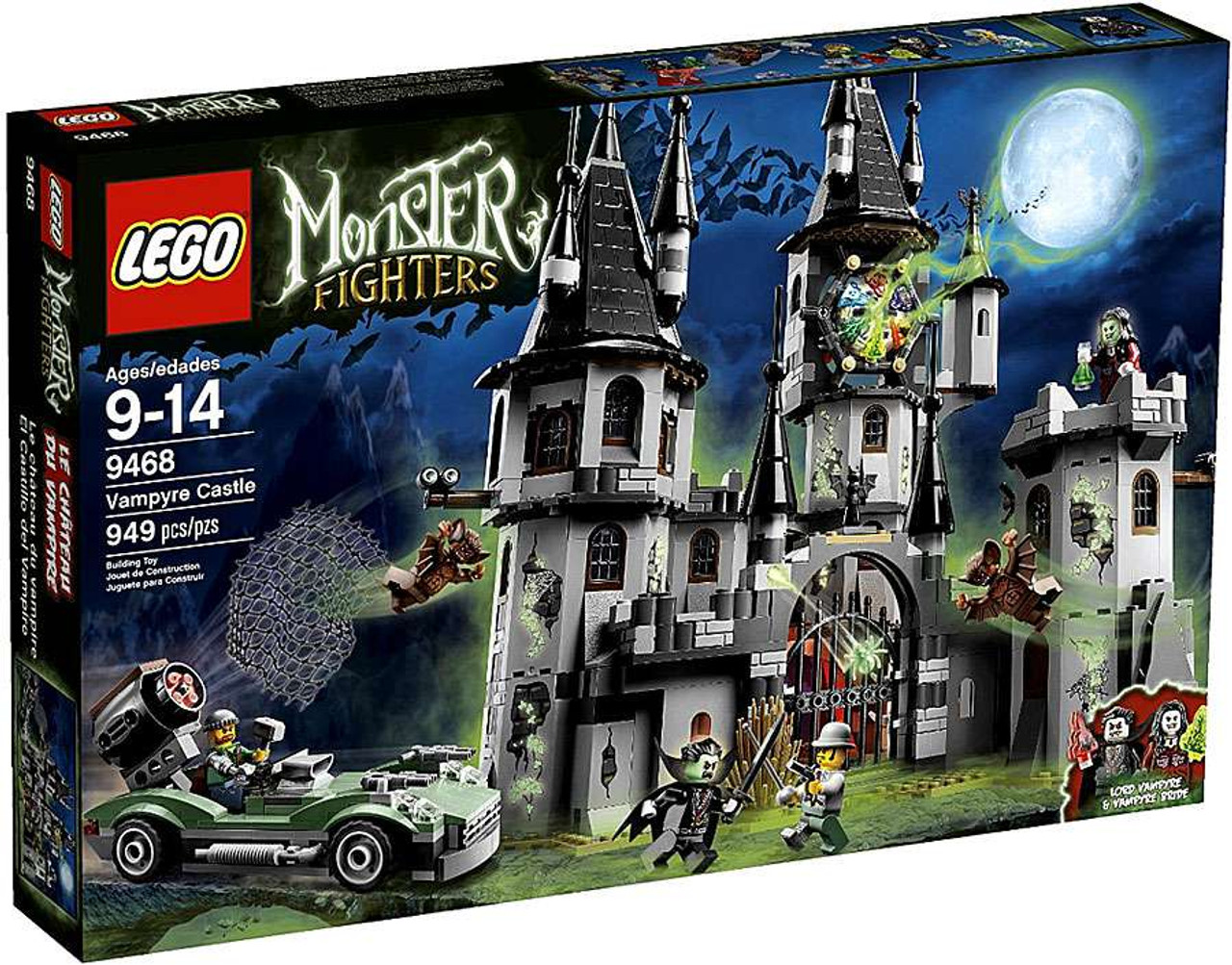 LEGO Monster Fighters The Vampyre Castle Set #9468