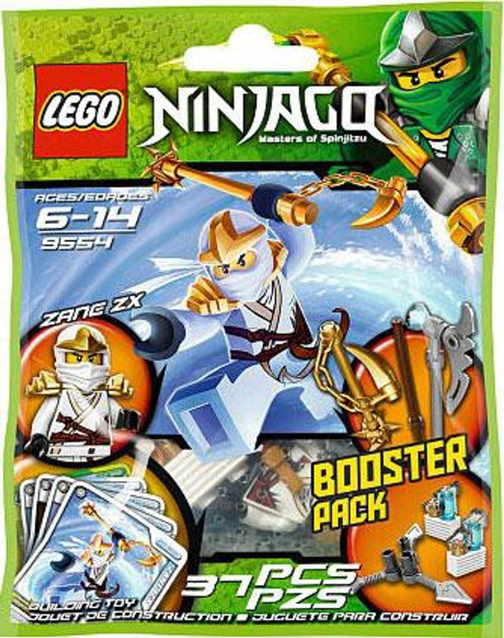 LEGO Ninjago Spinjitzu Spinners Mini Set #9554 [Bagged]