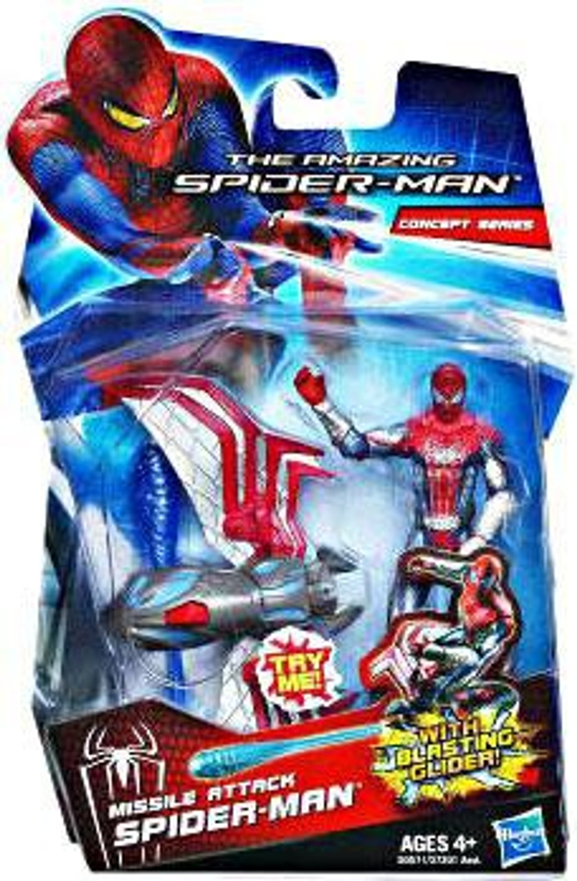 The Amazing Spider-Man Concept Series Missile Attack Spider-Man Action Figure