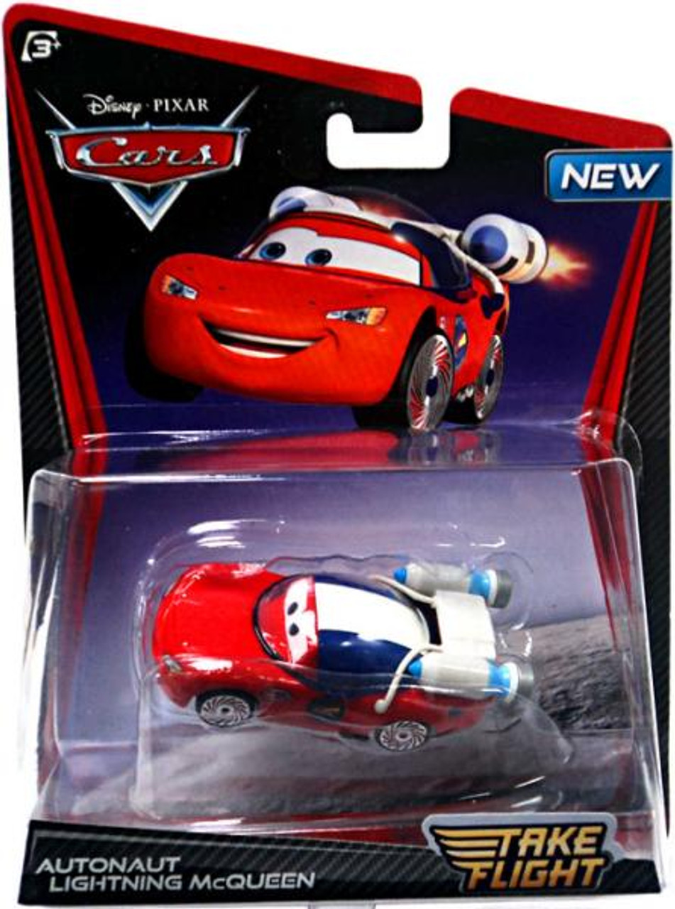 Disney Cars Take Flight Autonaut Lightning McQueen Diecast Car