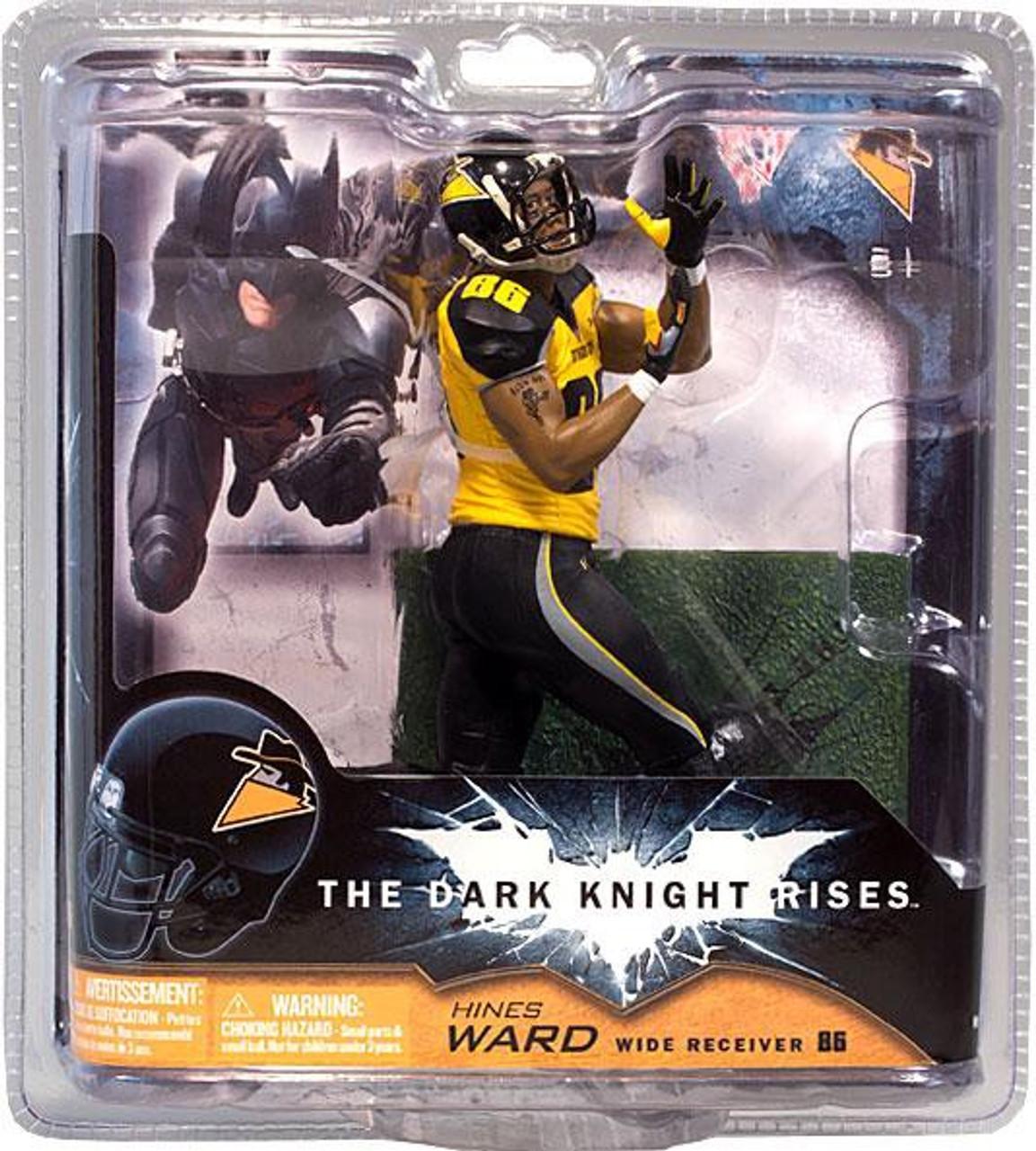 McFarlane Toys NFL Sports Picks Dark Knight Rises Hines Ward Action Figure [Gotham Rogues]