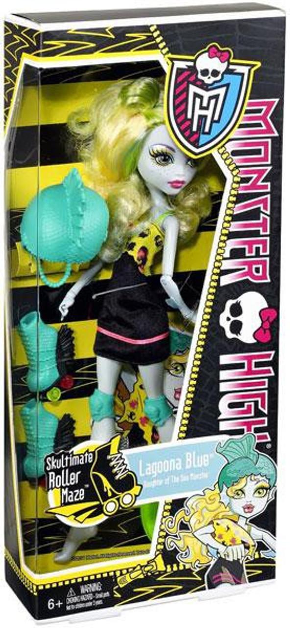 Monster High Skultimate Roller Maze Lagoona Blue 10.5-Inch Doll