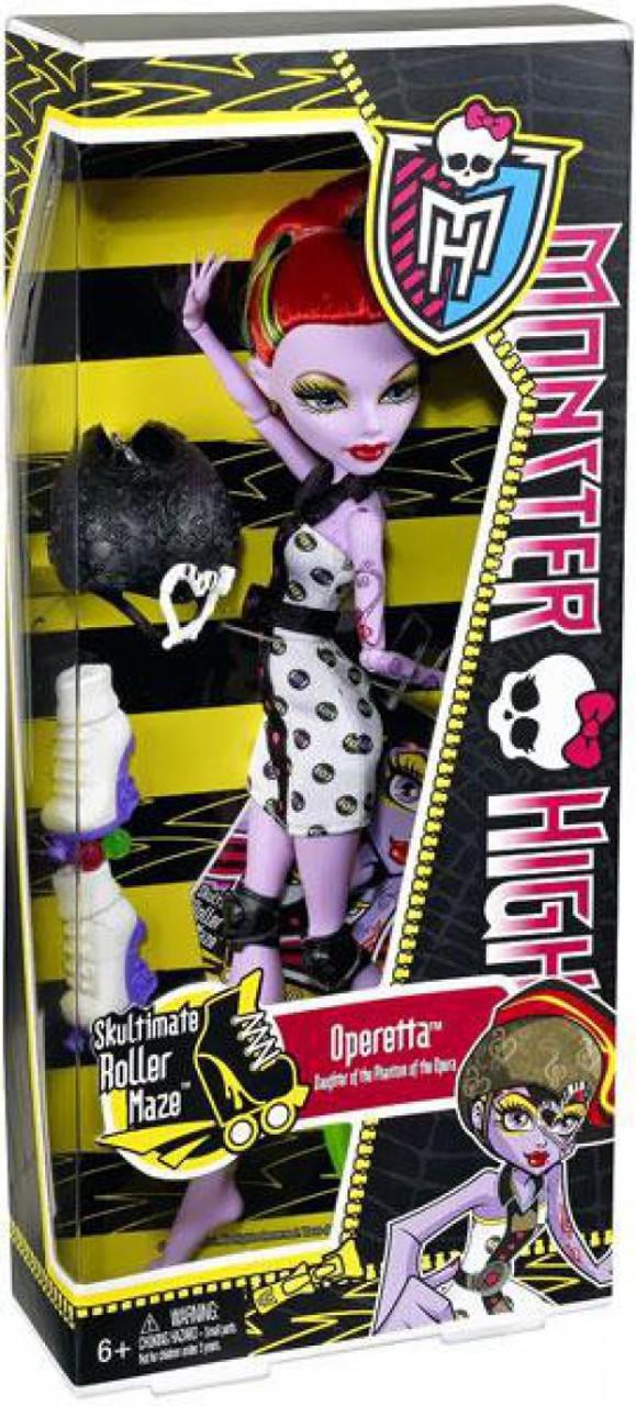Monster High Skultimate Roller Maze Operetta 10.5-Inch Doll