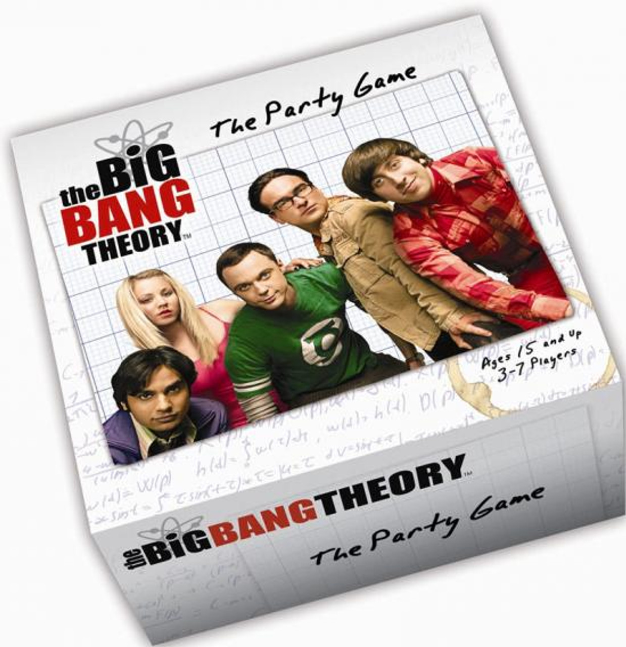 The Big Bang Theory The Party Game Board Game
