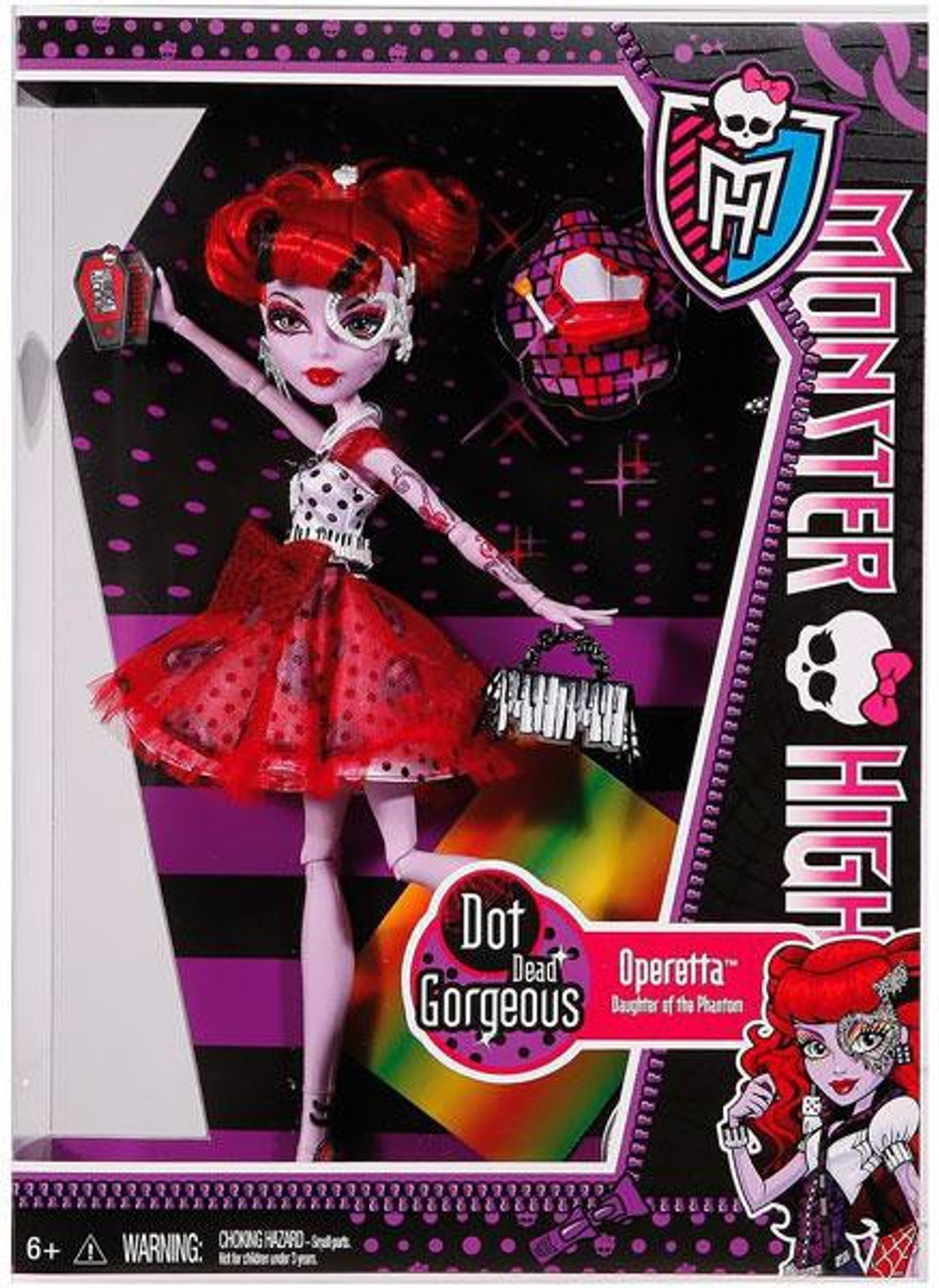 Operetta Dot Dead Gorgeous Monster High Dot Dead ...