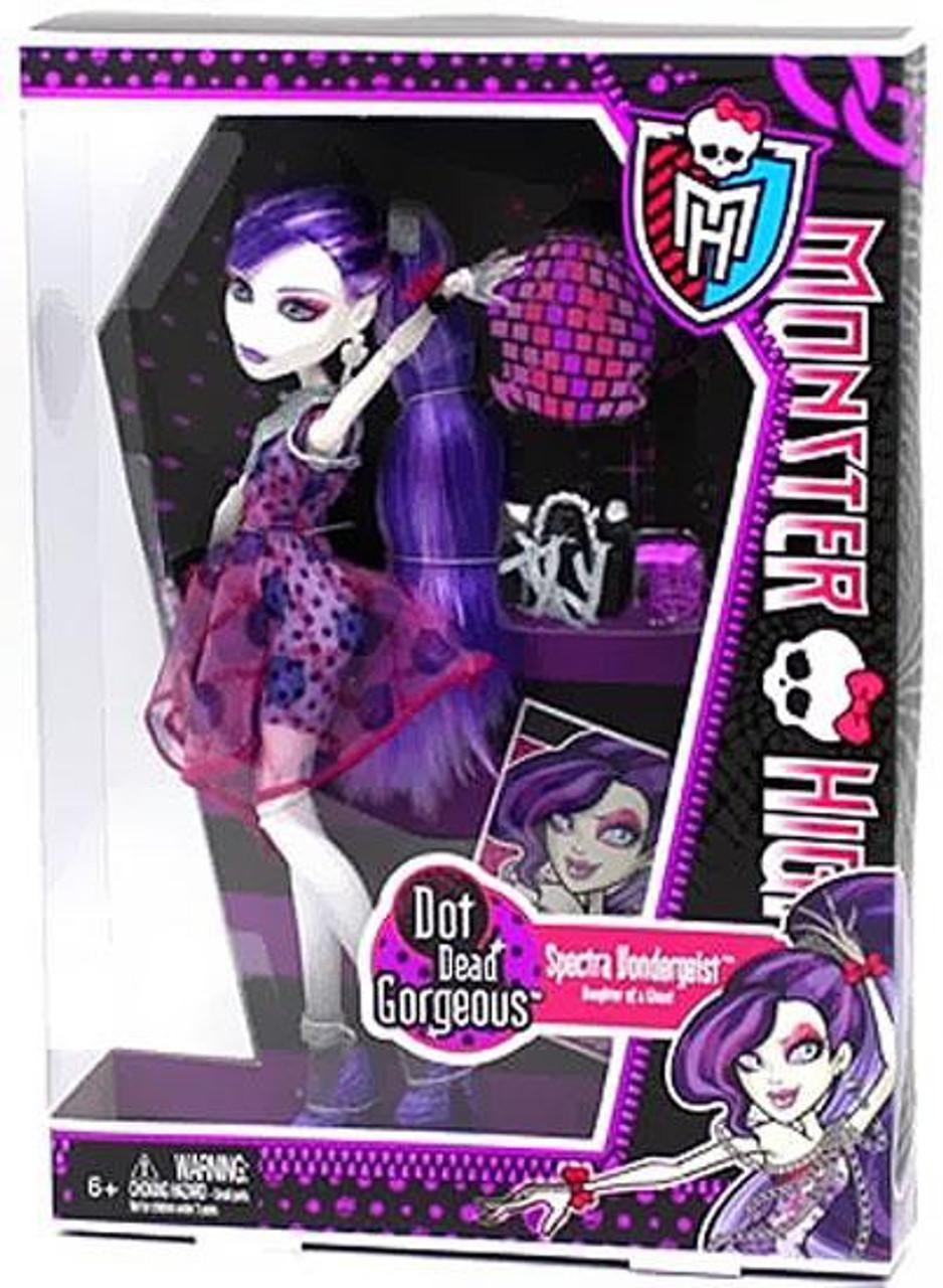 Monster High Dot Dead Gorgeous Spectra Vondergeist 10.5-Inch Doll