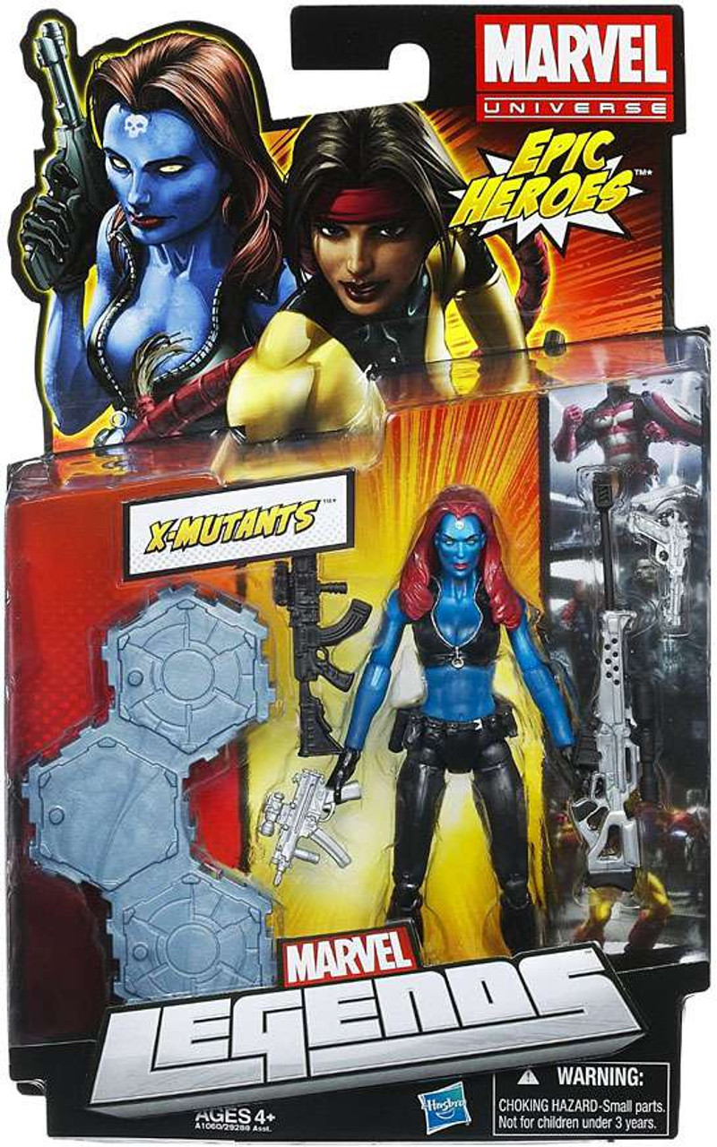 Marvel Legends 2012 Series 3 Epic Heroes X-Mutants Action Figure [Mystique]