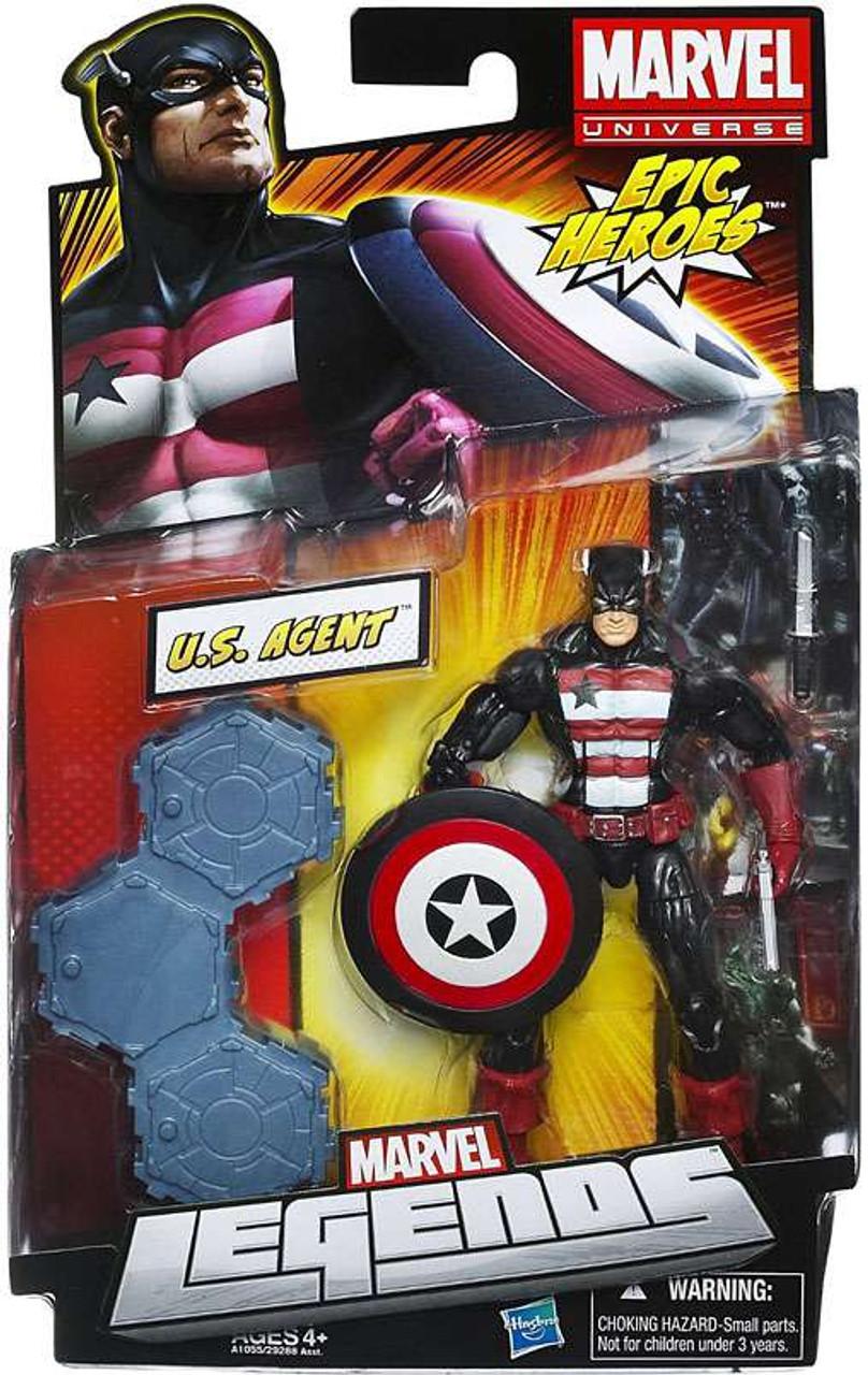 Marvel Legends 2012 Series 3 Epic Heroes U.S. Agent Action Figure