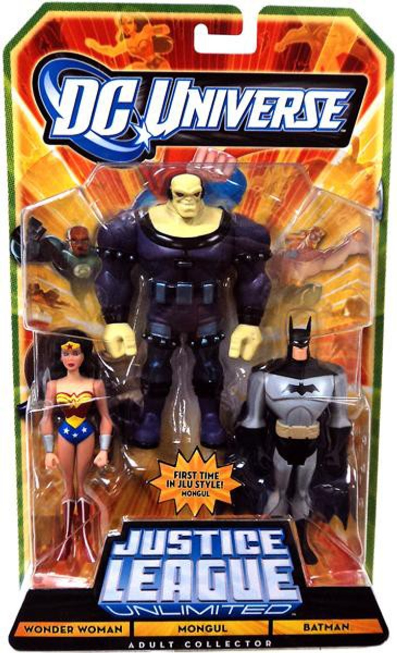 Dc Universe Justice League Unlimited Wonder Woman, Mongul -6203