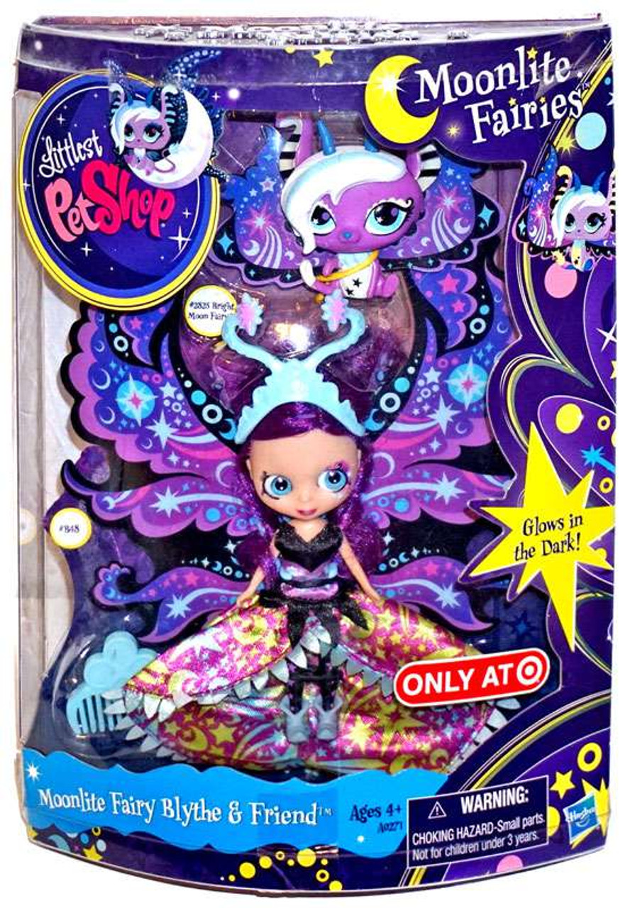 Littlest Pet Shop Moonlite Fairies Moonlite Fairy Blythe & Friend Exclusive Figure 2-Pack
