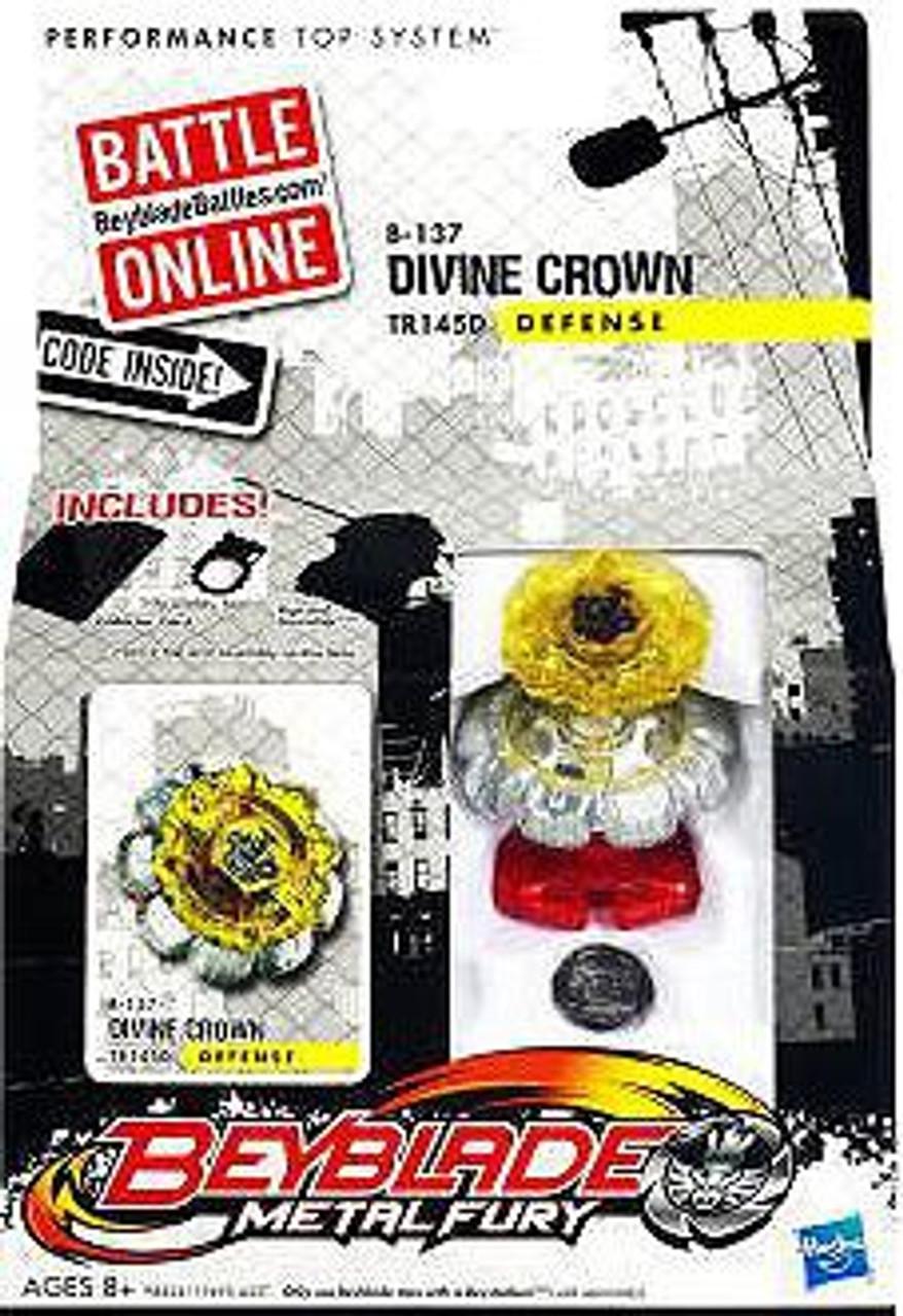 Beyblade Metal Fury Divine Crown Single Pack B-137