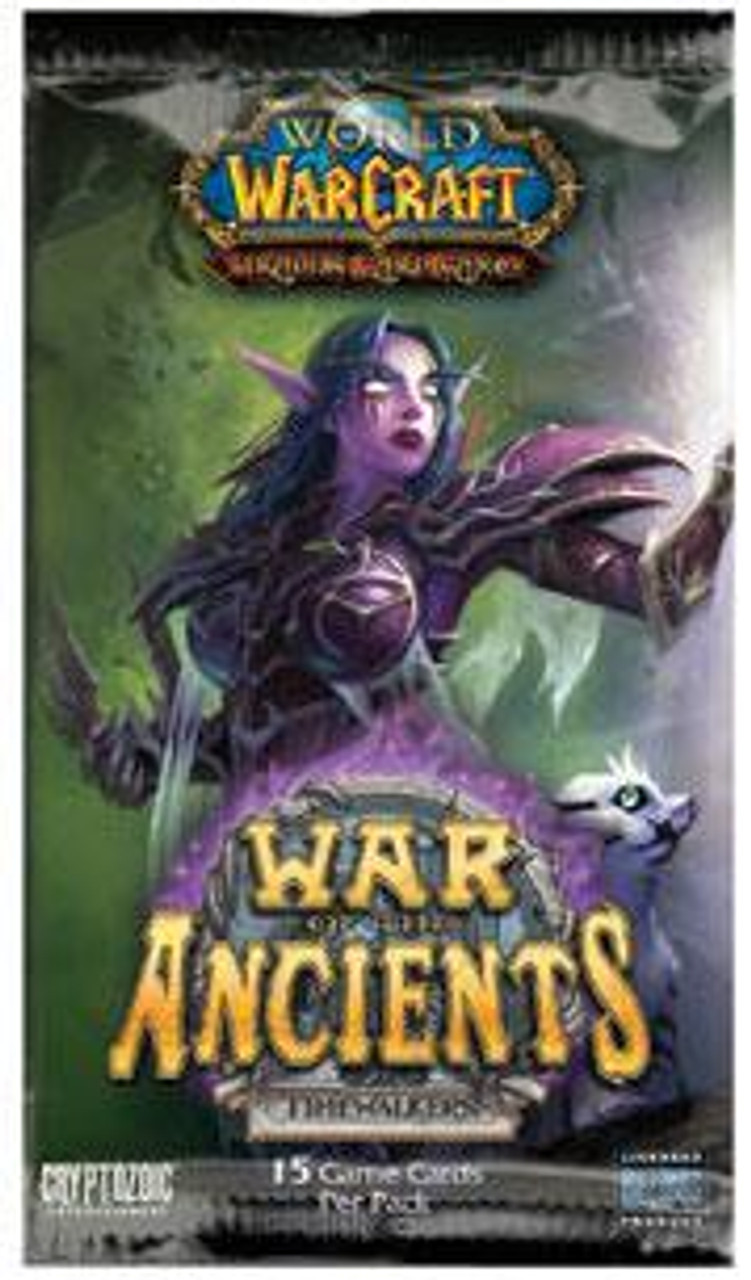 World of Warcraft Trading Card Game War of the Ancients Booster Pack