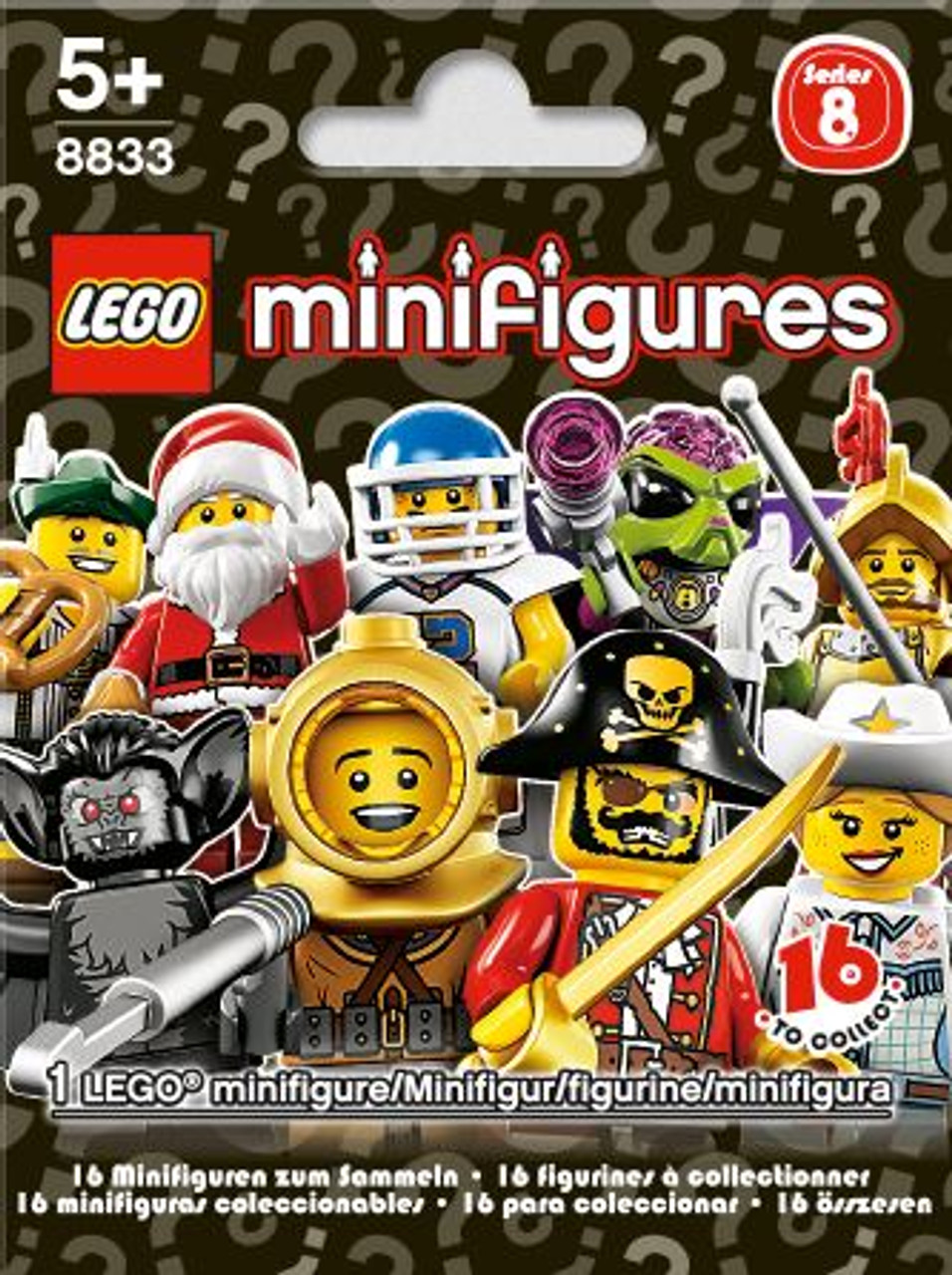 LEGO Minifigures Series 8 Mystery Pack