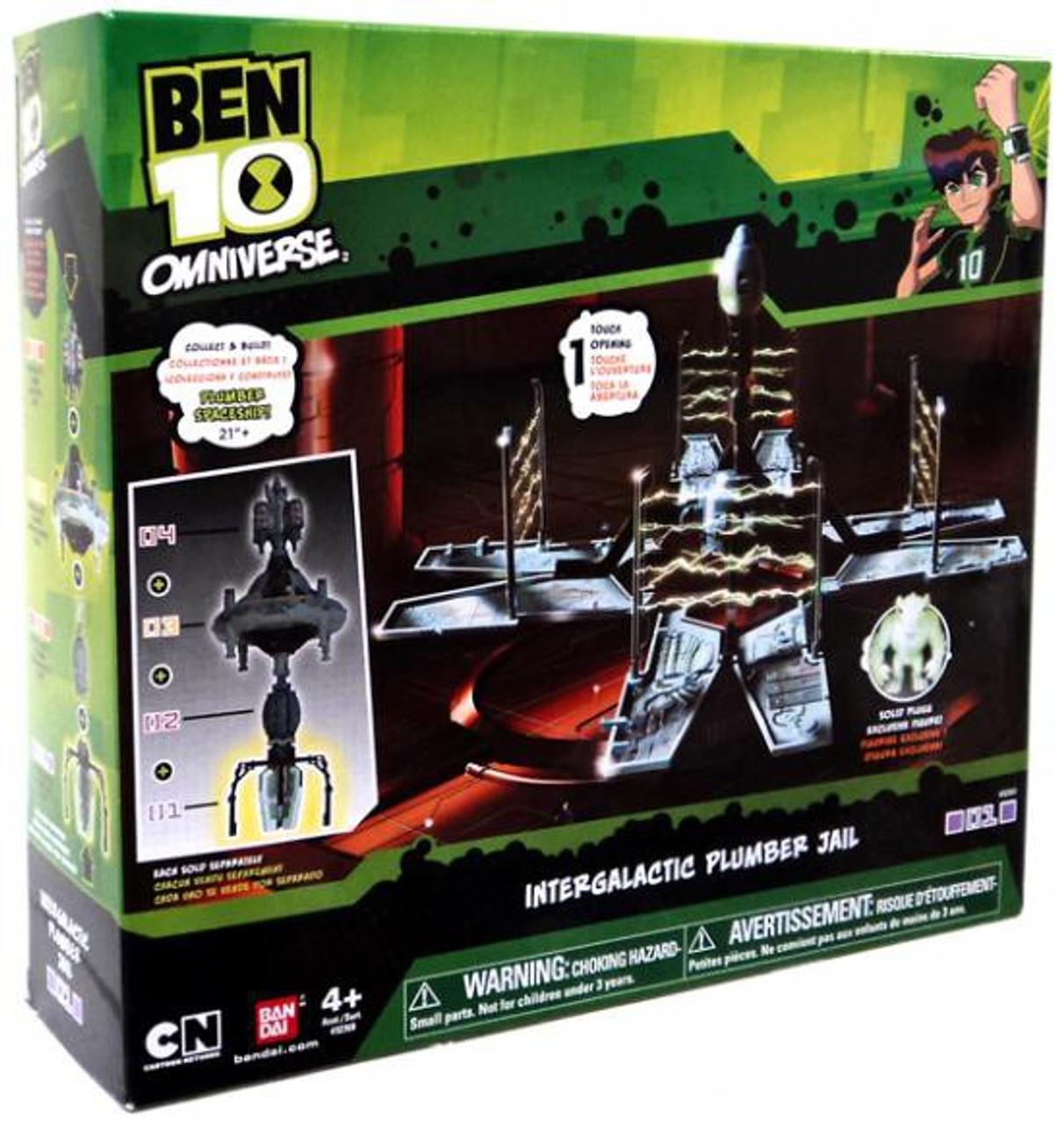 Ben 10 Omniverse Intergalactic Plumber Jail Playset