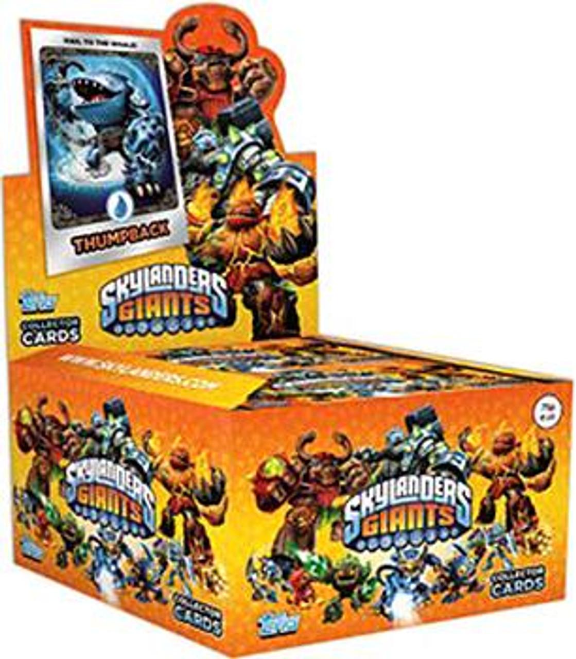 Skylanders Giants Trading Card Box