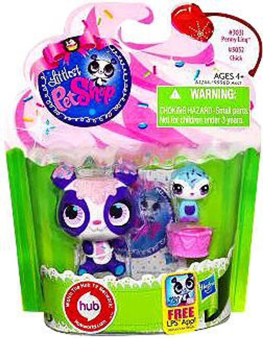 Littlest Pet Shop Panda & Bird Friend Action Figure 2-Pack