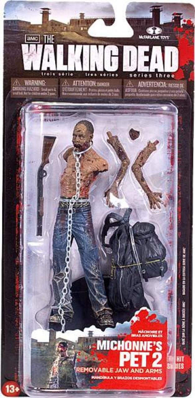 McFarlane Toys Walking Dead AMC TV Series 3 Michonne's Pet Zombie 2 Action Figure