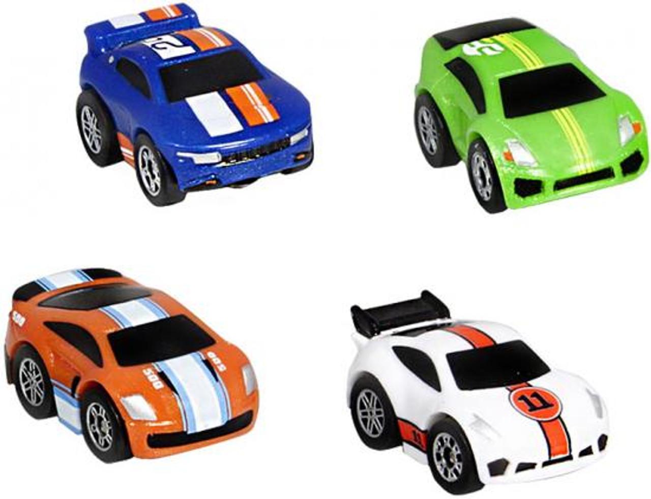 Nano Speed Nano Super Car Micro Car 4-Pack [Random Cars]