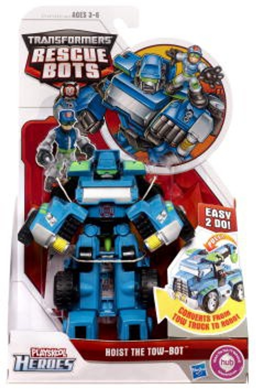 Transformers Rescue Bots Playskool Heroes Hoist The Tow-Bot Action Figure