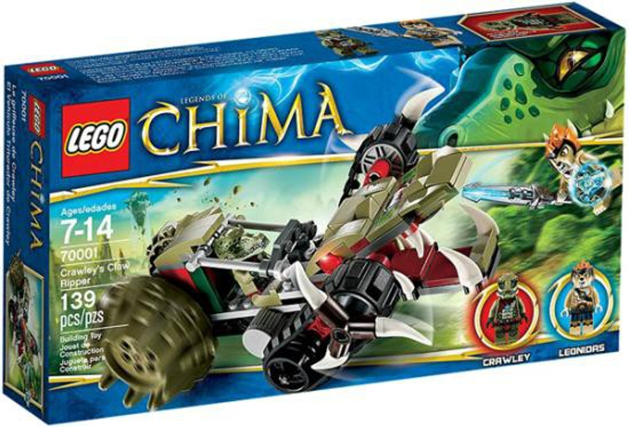 LEGO Legends of Chima Crawley's Claw Ripper Set #70001