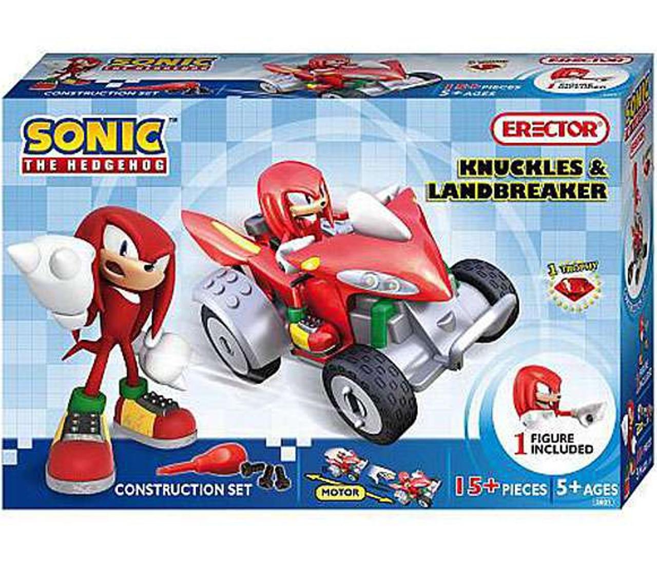 Sonic The Hedgehog Knuckles & Landbreaker Construction Set #5601