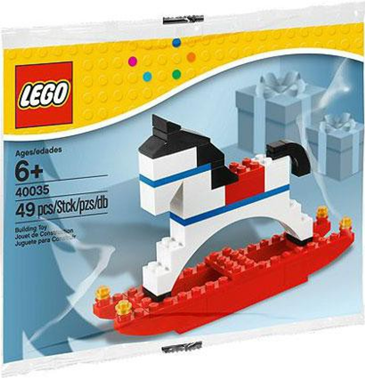 LEGO Rocking Horse Mini Set #40035 [Bagged]