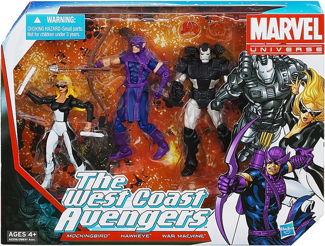 Marvel Universe Super Hero Team Packs The West Coast Avengers Action Figure Set