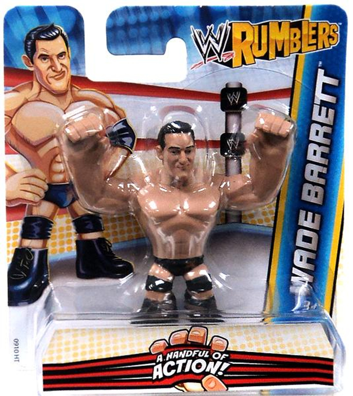 WWE Wrestling Rumblers Series 2 Wade Barrett Mini Figure