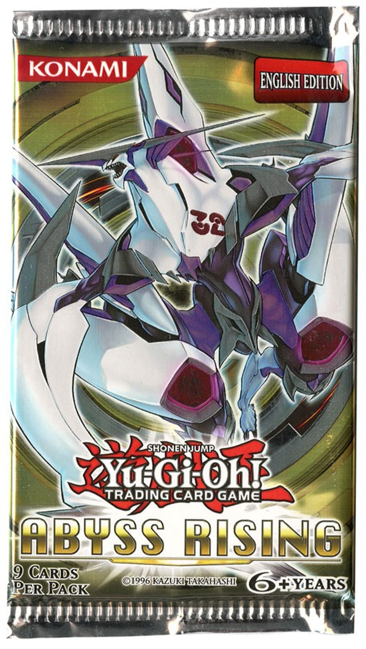 YuGiOh Abyss Rising Booster Pack