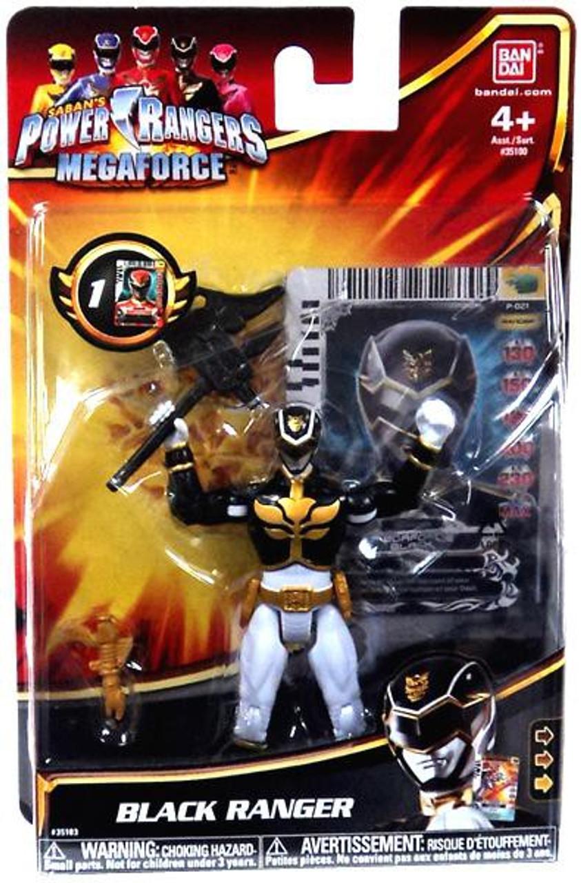 Power Rangers Megaforce Black Ranger Action Figure