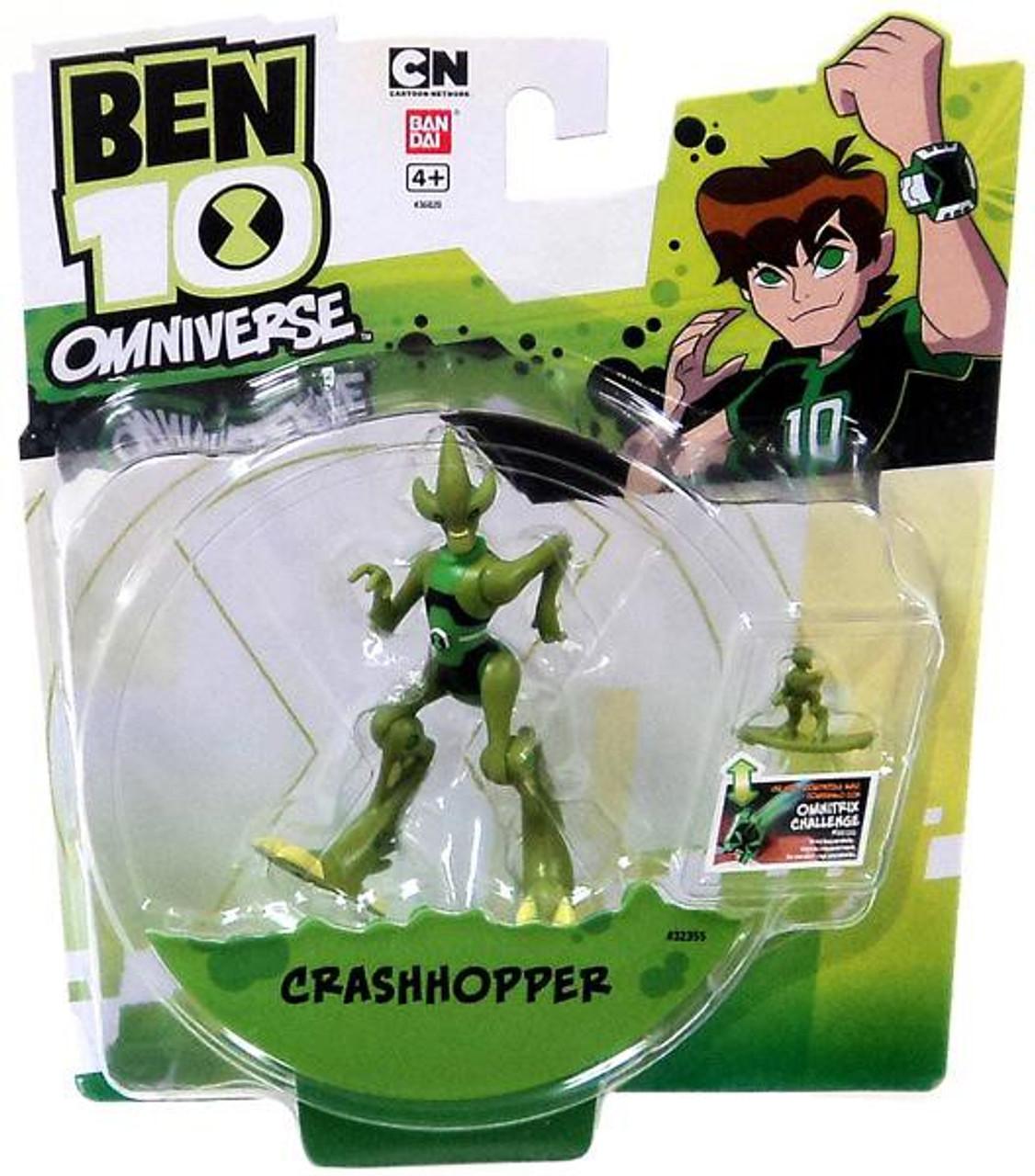 Ben 10 Omniverse 4-Inch Crashhopper Action Figure