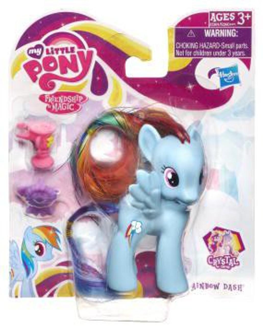 My Little Pony Friendship is Magic Crystal Empire Rainbow Dash Figure