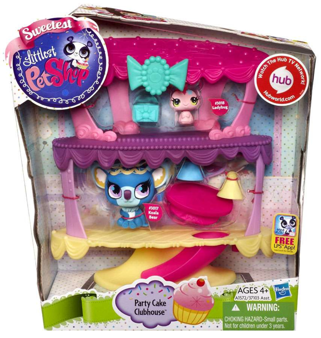 Littlest Pet Shop Party Cake Clubhouse Playset