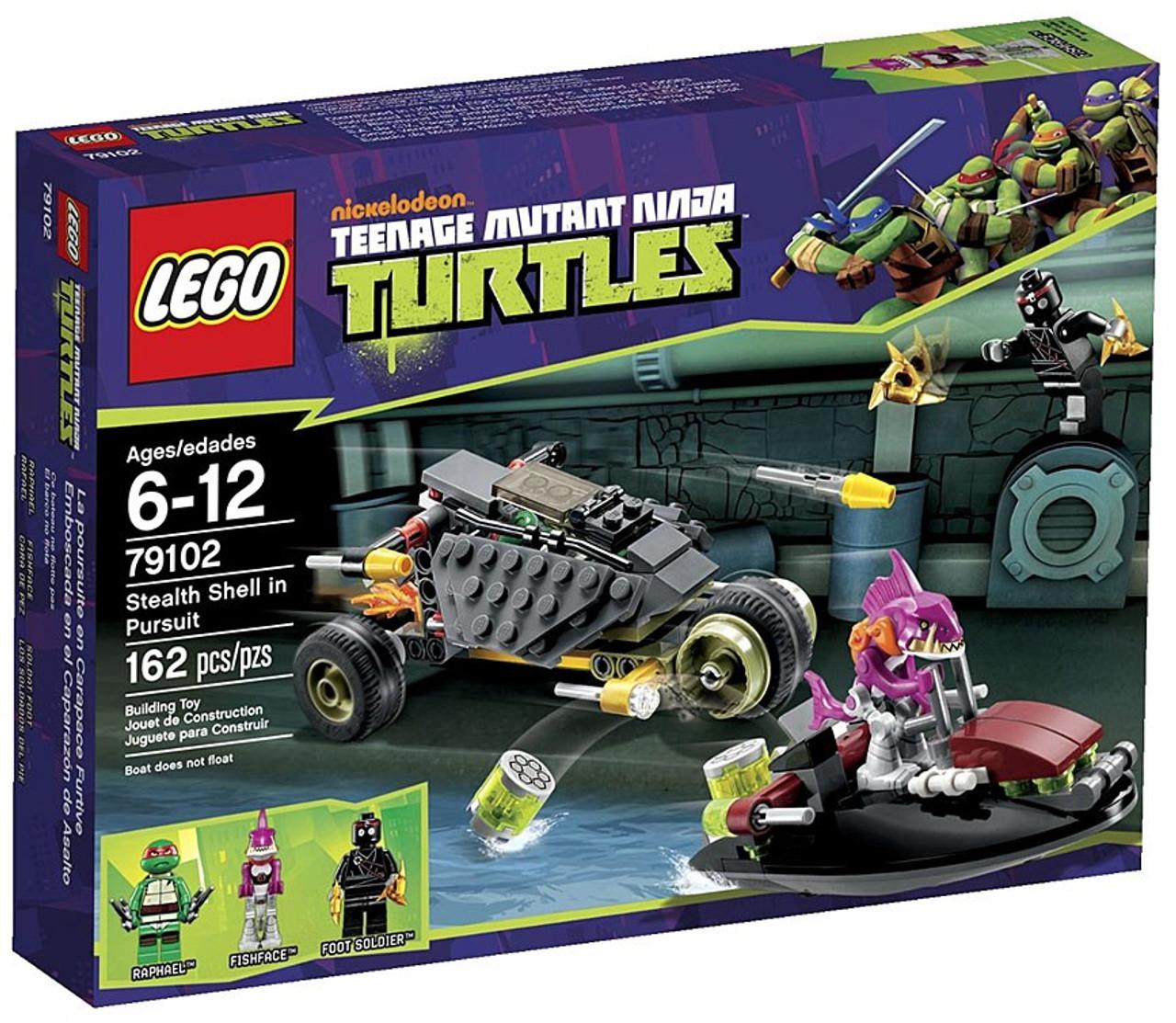 LEGO Teenage Mutant Ninja Turtles Stealth Shell in Pursuit Set #79102