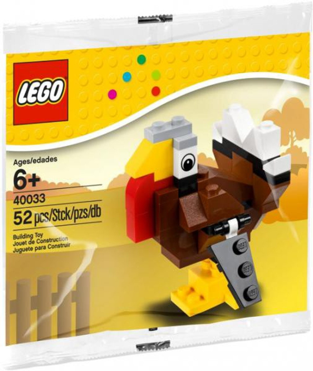 LEGO Turkey Mini Set #40033 [Bagged]