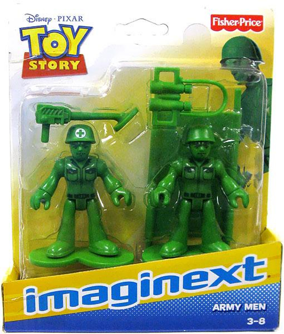 Fisher Price Toy Story Imaginext Army Men 3-Inch Mini Figures