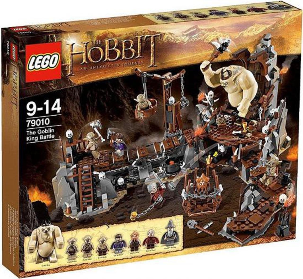 LEGO The Hobbit The Goblin King Battle Set #79010