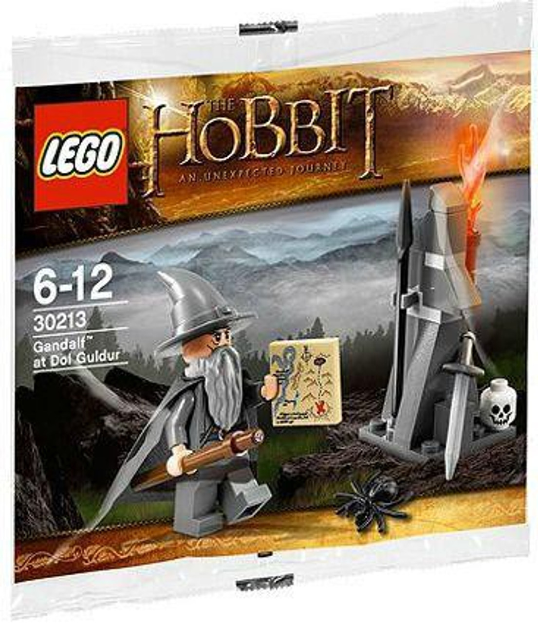 LEGO The Hobbit Gandalf at Dol Goldur Mini Set #30213 [Bagged]