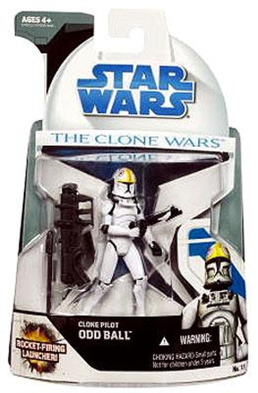 Star Wars The Clone Wars Clone Wars 2008 Oddball Action Figure #11