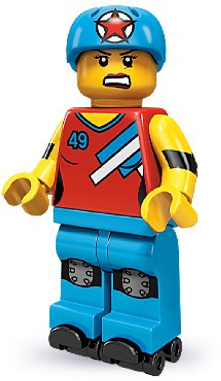 LEGO Minifigures Series 9 Roller Derby Girl Minifigure [Loose]