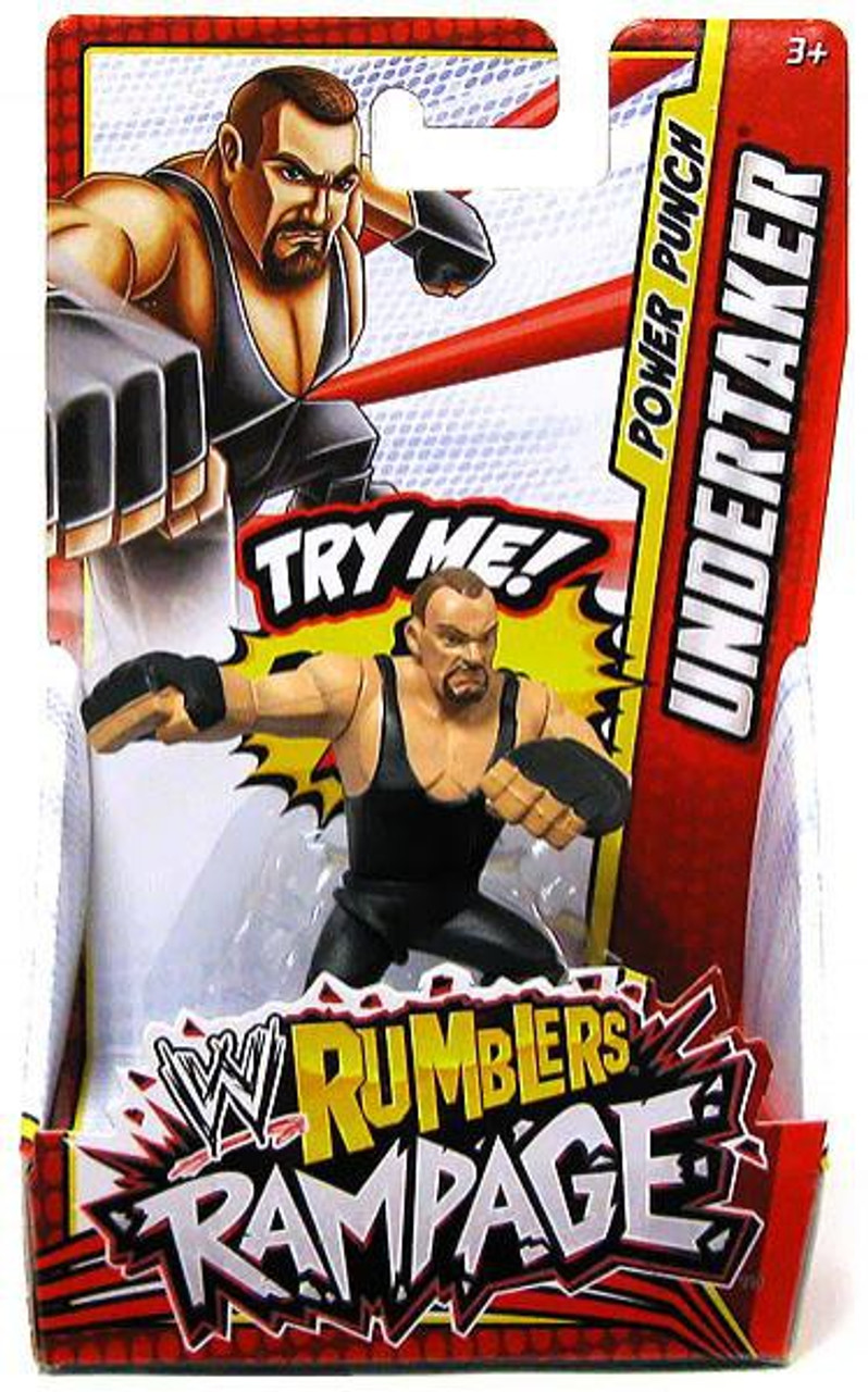 WWE Wrestling Rumblers Rampage Undertaker Mini Figure