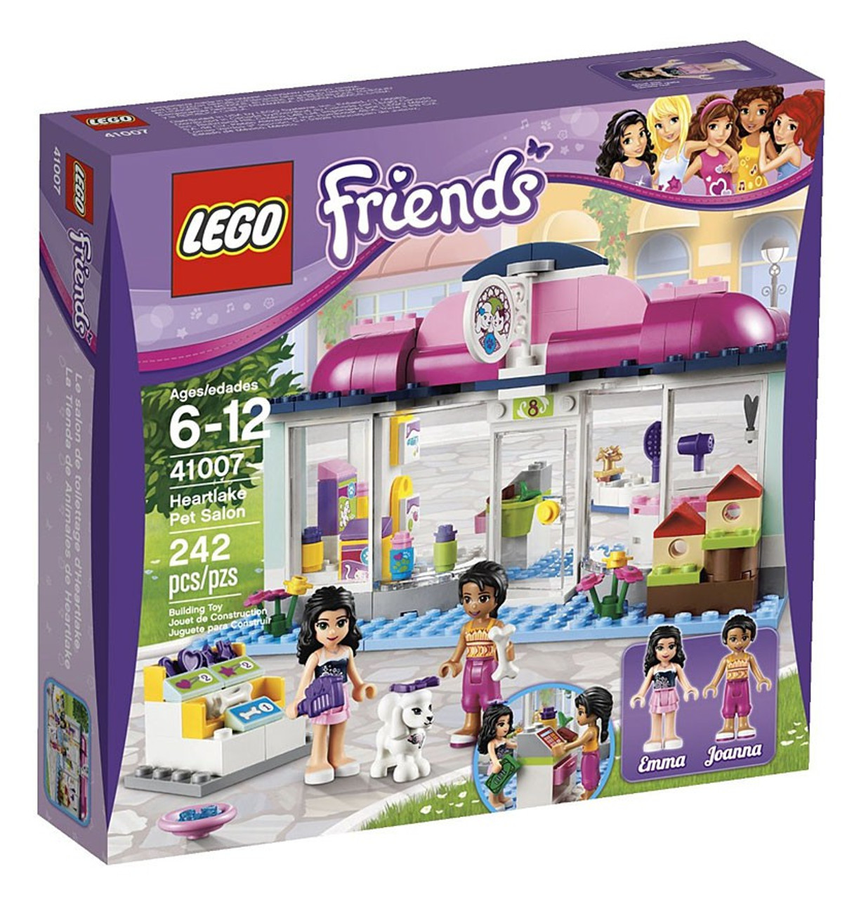 LEGO Friends Heartlake Pet Salon Set #41007