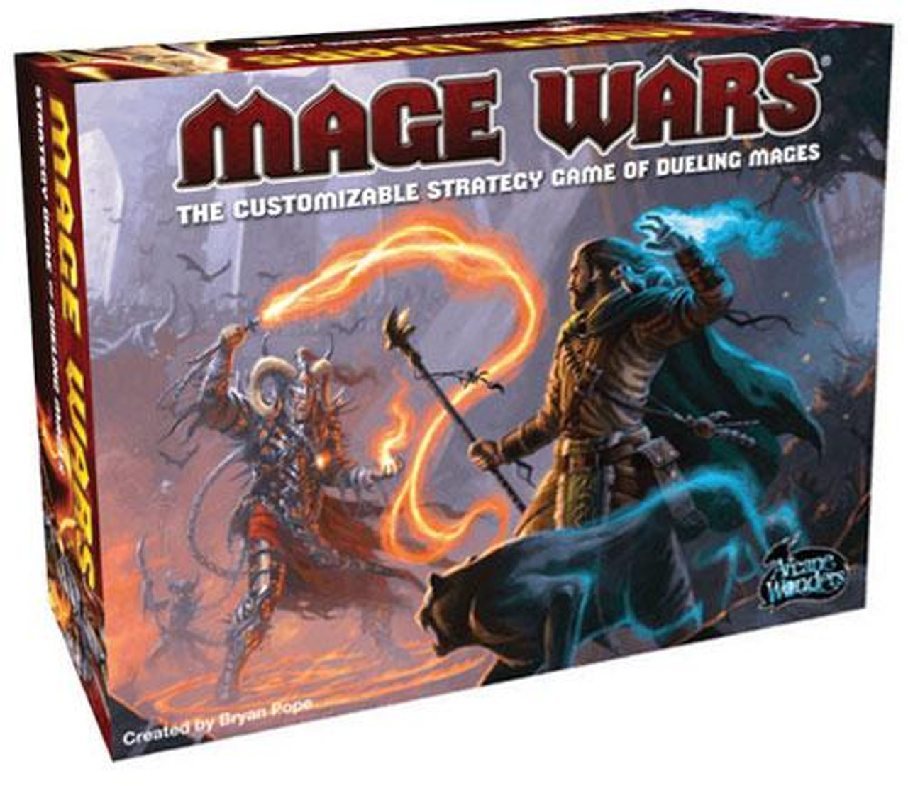 Core Set Mage Wars Board Game