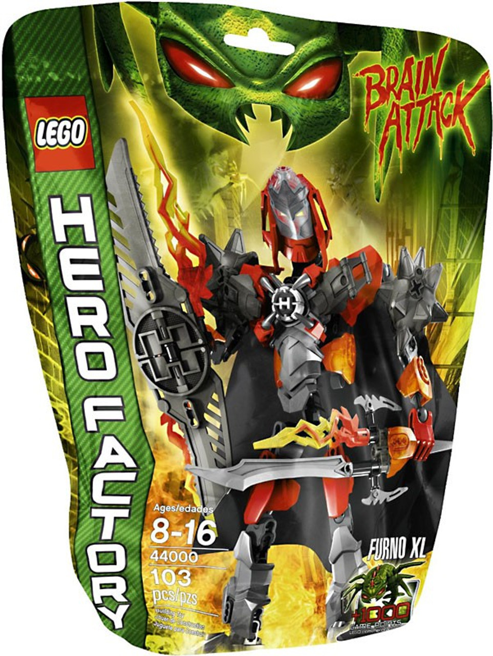 LEGO Hero Factory Furno XL Set #44000