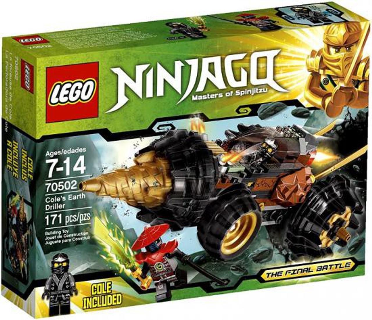 LEGO Ninjago The Final Battle Cole's Earth Driller Set #70502